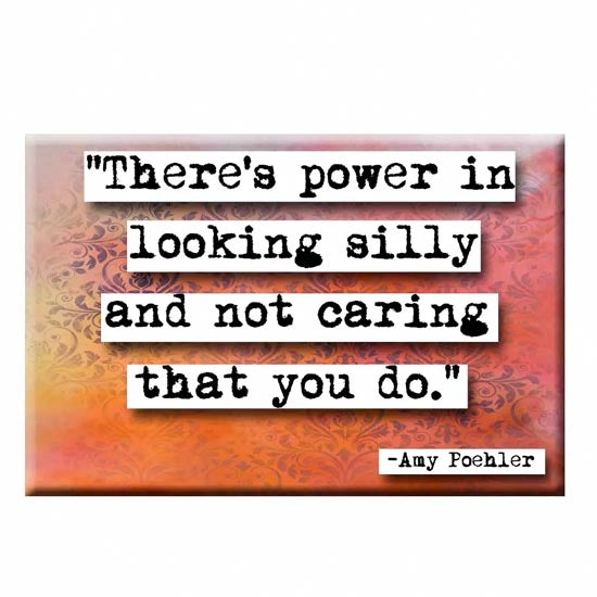 Amy Poehler Power Quote Magnet