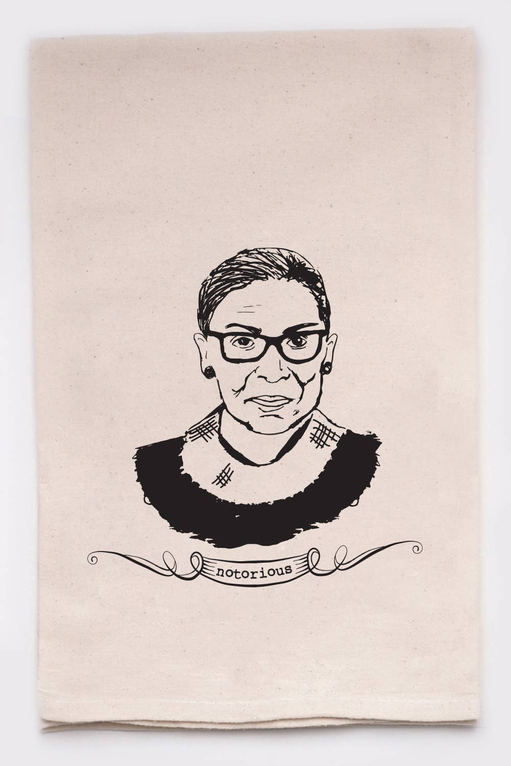 Notorious RBG Ruth Bader Ginsberg Kitchen Tea Towel