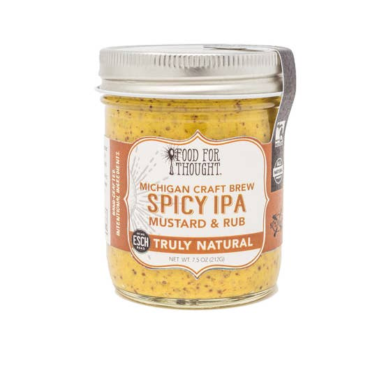 Truly Natural Spicy Ipa Mustard