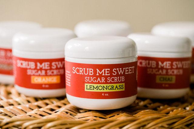 Natural Red Scrub Me Sweet Sugar Scrub