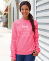 That Woman From Michigan Crew Sweatshirt
