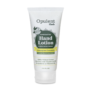 All Natural Hand Lotion Travel Size - Lemongrass