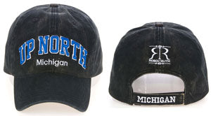 Up North Michigan Baseball Hat