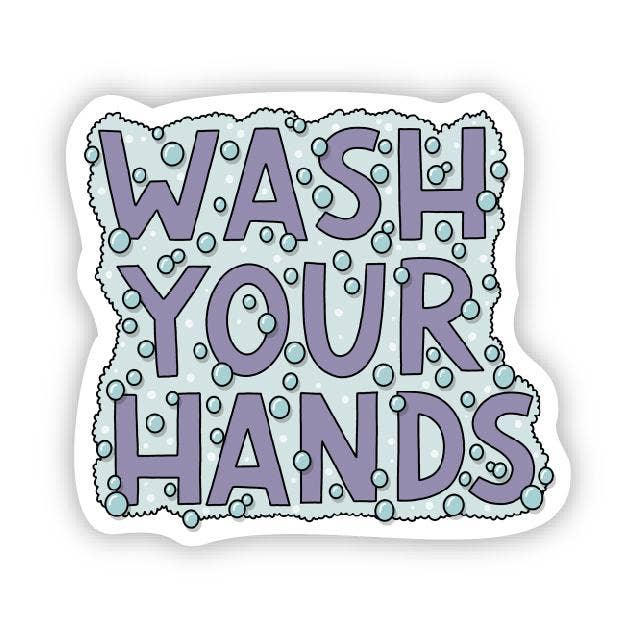 Wash Your Hands Pandemic Covid 19 Sticker