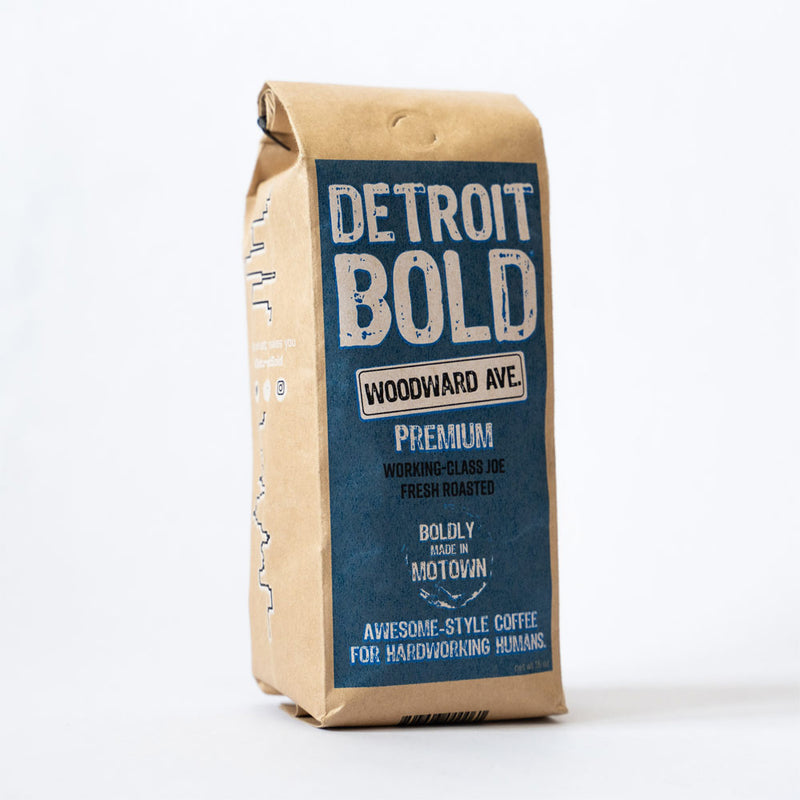 Detroit Bold Woodward Blend Coffee
