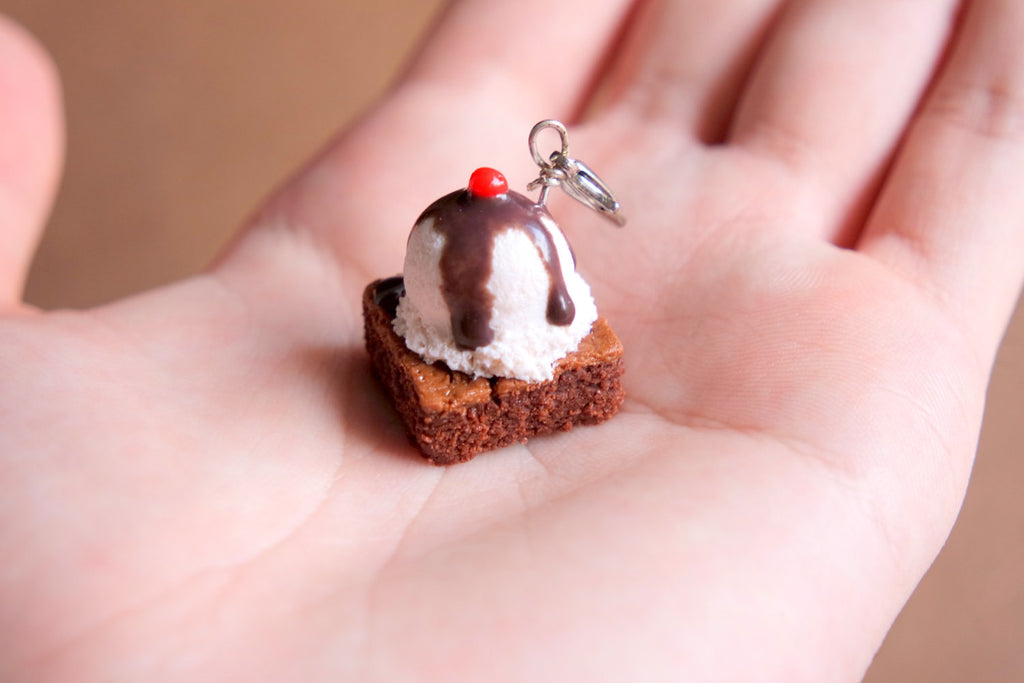 Brownie Sundae Charm