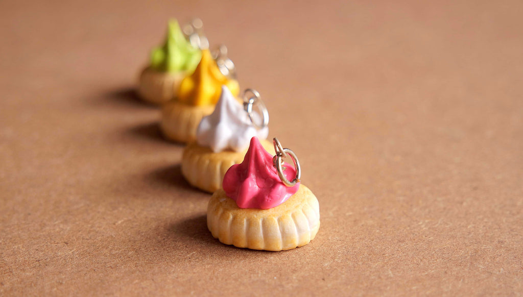 Iced Gem Biscuit Charm