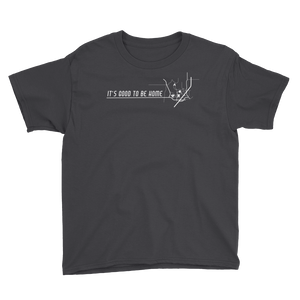 Destination: Home Black Short-Sleeve Youth T-Shirt