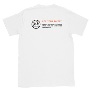 For Your Safety White Short-Sleeve Unisex T-Shirt