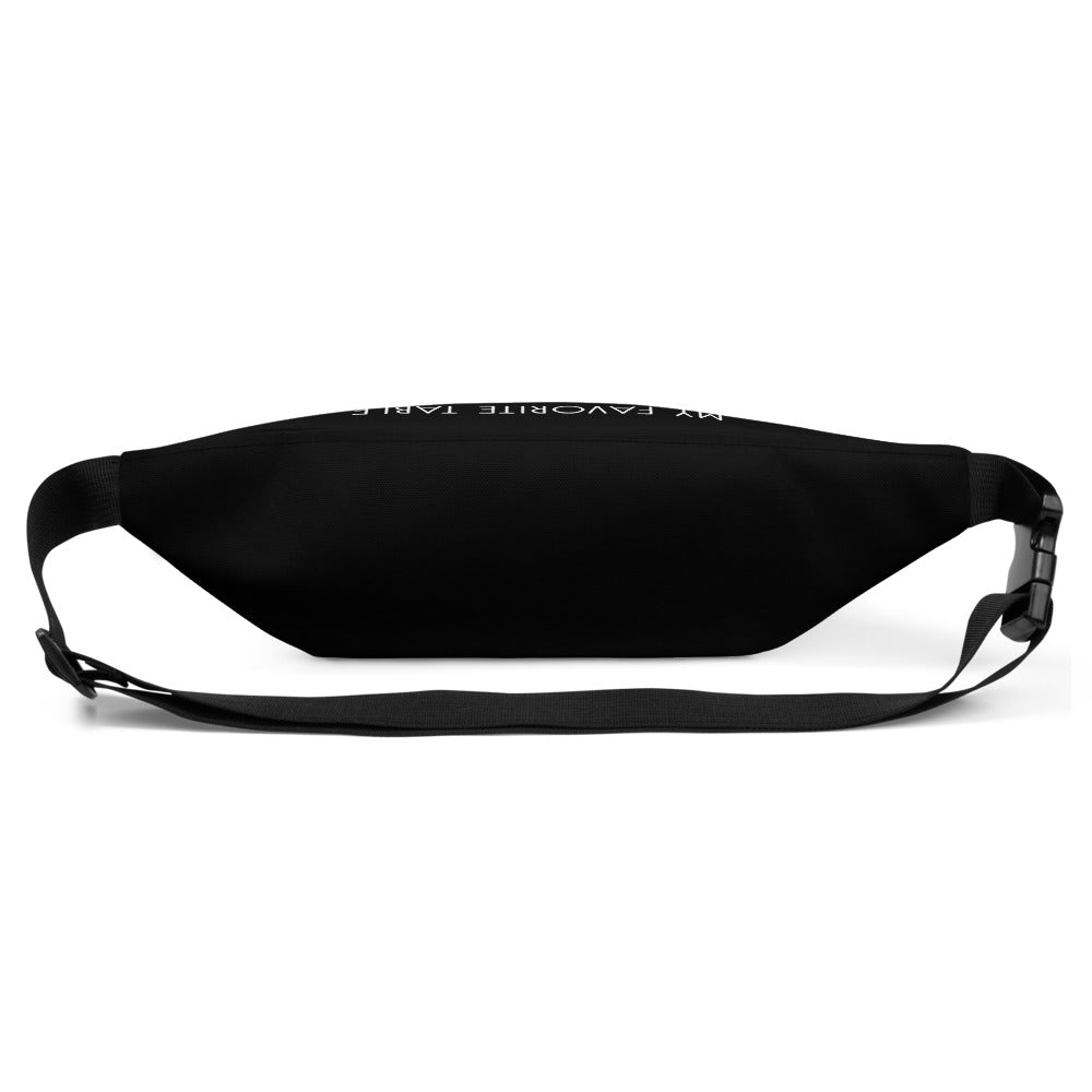 My Favorite Table Black Fanny Pack