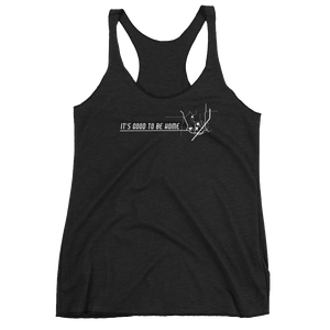 Destination: Home Women's Racerback Tank