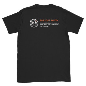 For Your Safety Black Short-Sleeve Unisex T-Shirt