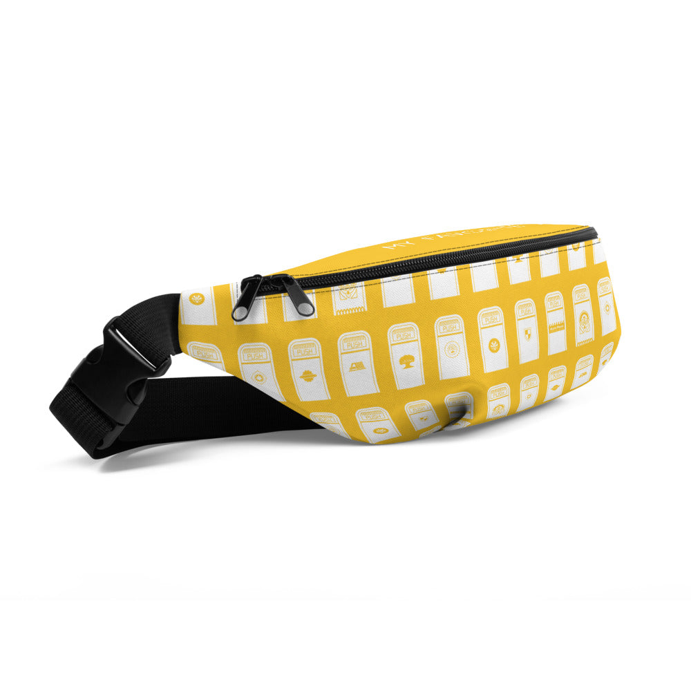 My Favorite Table Yellow Fanny Pack
