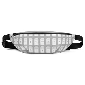 My Favorite Table Gray Fanny Pack