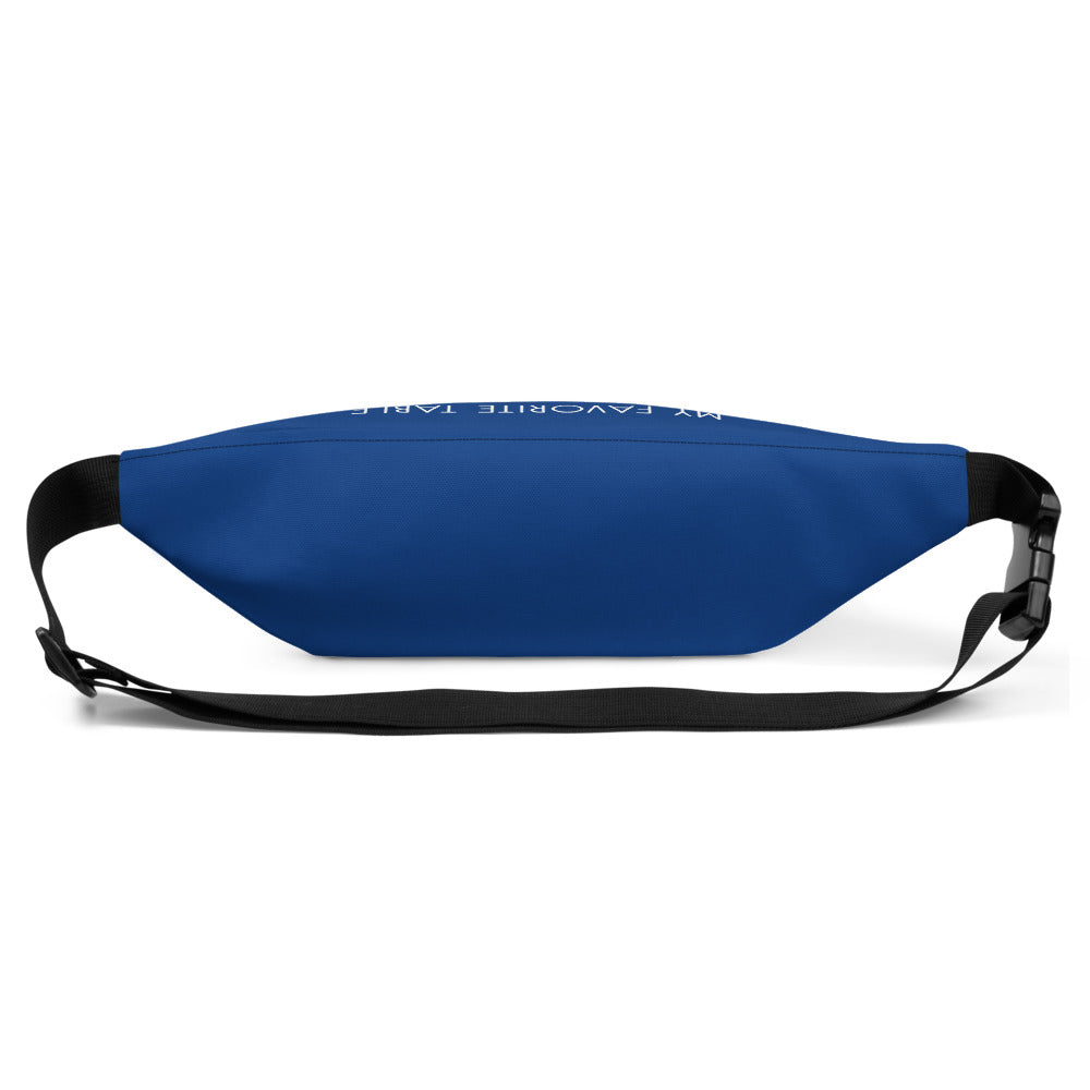 My Favorite Table Dark Blue Fanny Pack