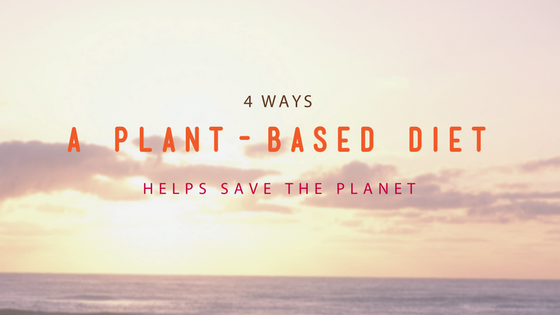 4 Ways a Plant-Based Diet Helps Save the Planet