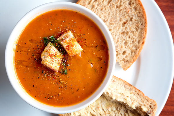 2 Ingredient Creamy Vegan Tomato Soup