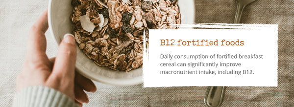 B12 fortified vegan foods