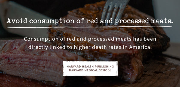 Red Processed Meat UnHealthy