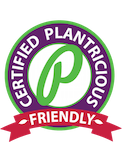 Certified Plantricious Friendly