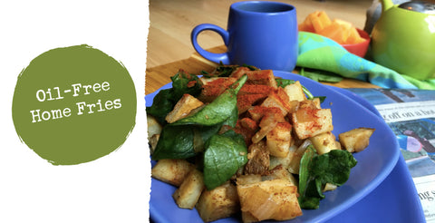 Oil-Free Home Fries