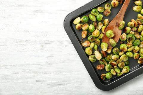 brussels sprouts veggie burger toppings