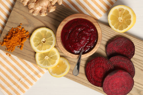 Strong Heart Beets Turmeric Ginger
