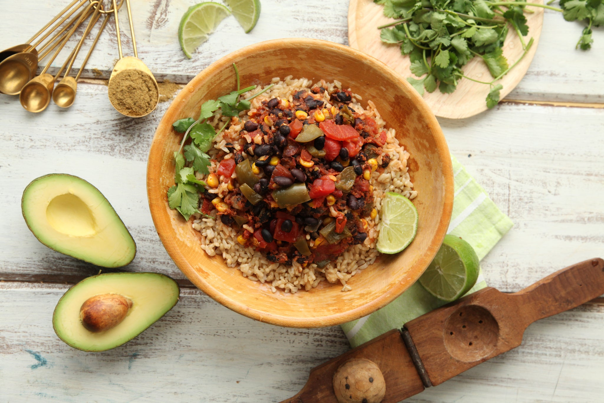 mamasezz black bean bowl plant based
