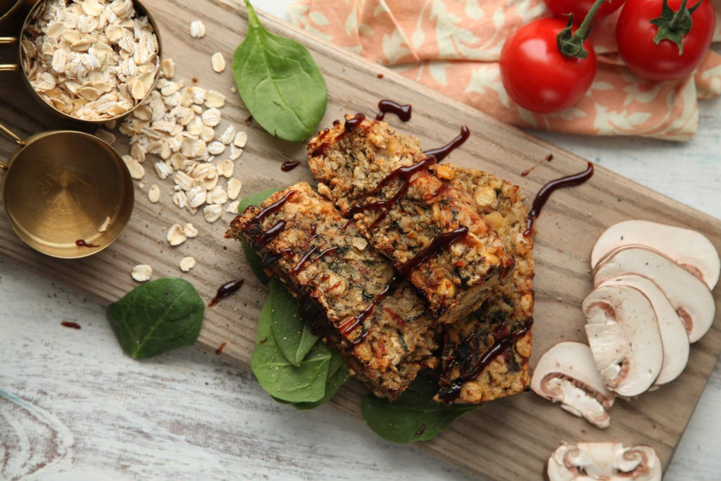 MamaSezz Veggie Loaf whole food plant based meals
