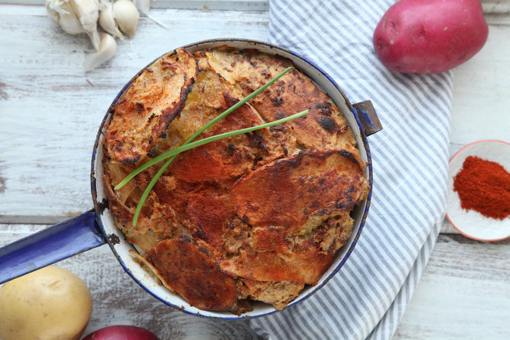 MamaSezz non-dairy scalloped potatoes