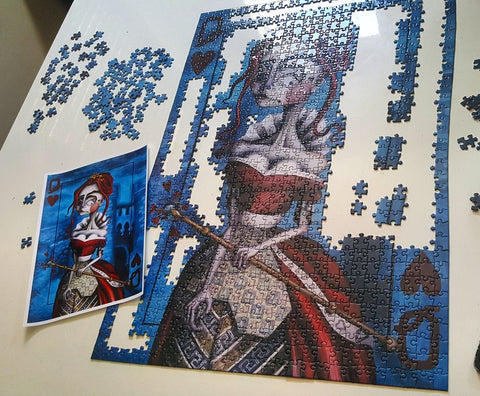The Queen puzzle