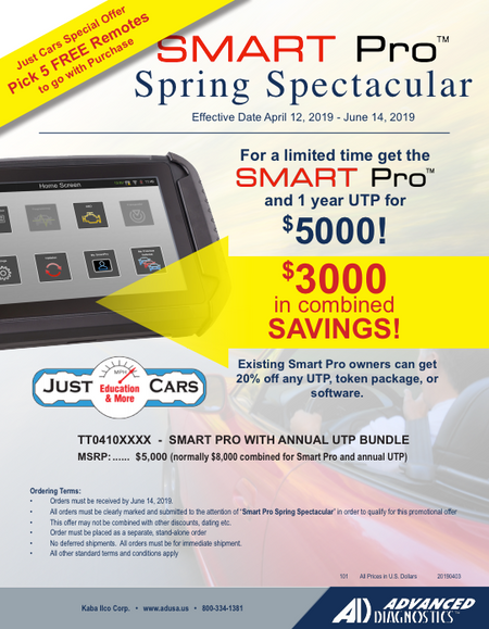 SMART Pro - Spring Spectacular Promo!!!