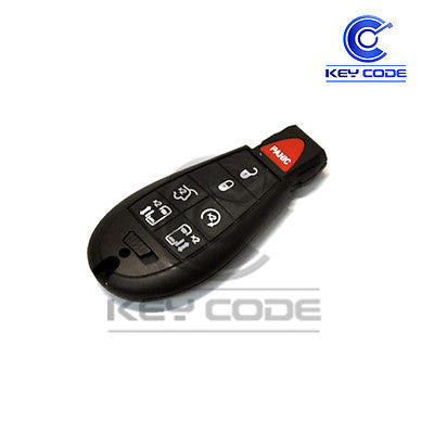DODGE Grand Caravan 2008 - 2017 Fobik Smart Key 7-Btns (Hatch) / IYZ-C01C - Key Code USA