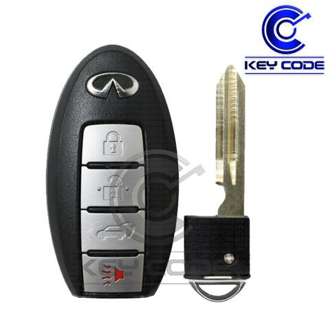 INFINITI QX56 2011-2013 Smart Key 4-Btns (Hatch) / CWTWB1U787