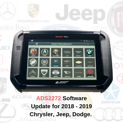 ADS2272 Software Update for 2018-2019 Chrysler, Jeep and Dodge