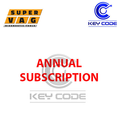 Annual SUBSCRIPTION - SUPERVAG - Key Code USA