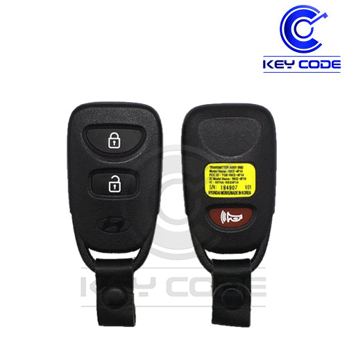 HYUNDAI Accent 2014-2016 Remote Transmitter 3-Btns / TQ8-RKE-4F14 with strap