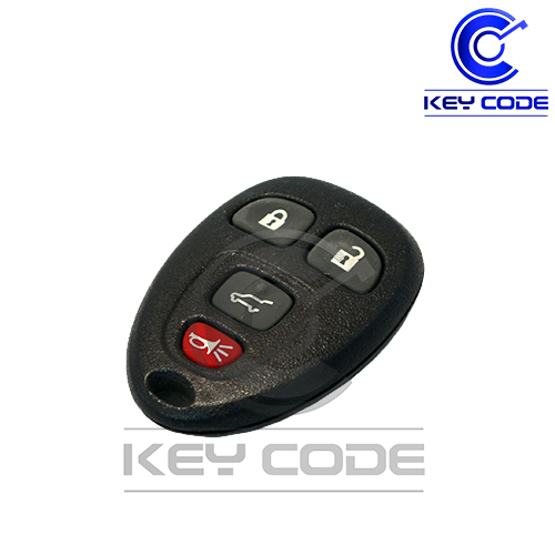 GM (Buick / Cadillac / Chevrolet / GMC / Saturn ) 2007 - 2015 Remote Control 4-Btns (Hatch) / OUC60270 - Key Code USA