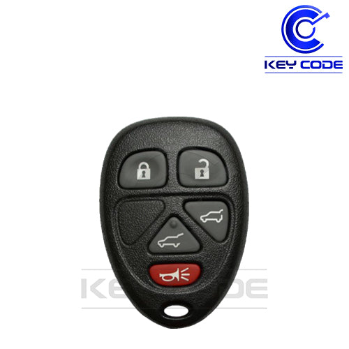 GM (Cadillac / Chevrolet / GMC) 2007 - 2013 SUV Keyless Entry Remote 6-Btns (Hatch) - 5922380 / OUC60270 OUC60221