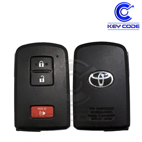 "TOYOTA Land Cruiser Prius C Tacoma 2012 - 2017 Smart Key 3-Btns (Board ""AG"") / HYQ14FBA"