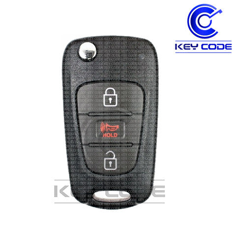 KIA Soul 2010 - 2013 Remote Flip Key 3-Btns (Assy AM11MY) / NY0SEKSAM11ATX - Key Code USA
