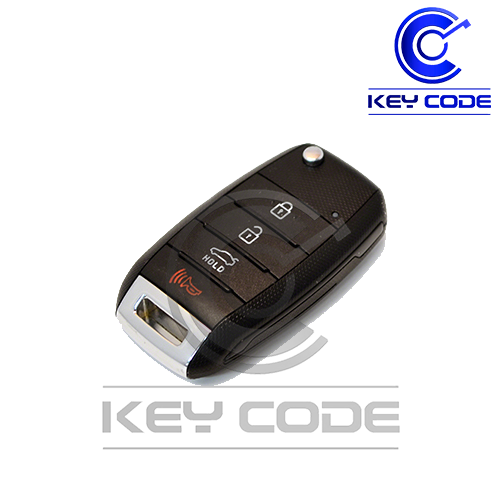 KIA Rio 2014 - 2017 Remote Key Flip 4-Btns (Trunk) / TQ8-RKE-3F05 - Key Code USA