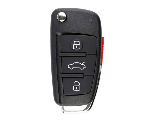 Audi 2006 - 2010 A3 A4 A5 A6 A8 Q5 Q7 R8 RS4 S4 S5 S6 S8 TT / MYT4073A Flip Key REPLACEMENT