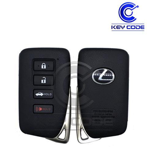 "LEXUS ES GS Series 2013 - 2017 Smart Key 4-Btns (Board ""G"" - 0020) / HYQ14FBA - Key Code USA"