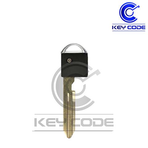 NISSAN INFINITI 2006-2017 Emergency Insert Key (Standard - DA34) with Transponder
