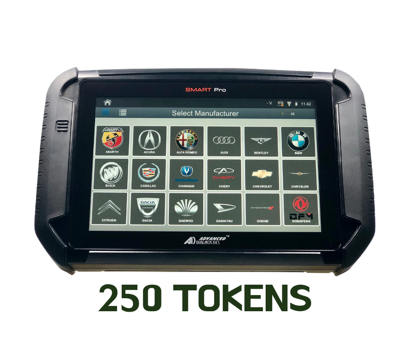 60% OFF any token package / 250 TOKEN /*ONLY WHEN YOU DO THE TRADE UP OF YOUR OLD MACHINE*