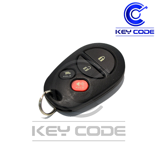 TOYOTA Sequoia 2008 - 2017 4B Hatch Keyless Entry Remote GQ43VT20T - AS Keys - Key Code USA