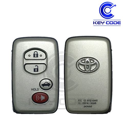 "TOYOTA Avalon Camry 2007-2010 Smart Key 4-Btns (Trunk - Board ""E"") / HYQ14AAB - Key Code USA"