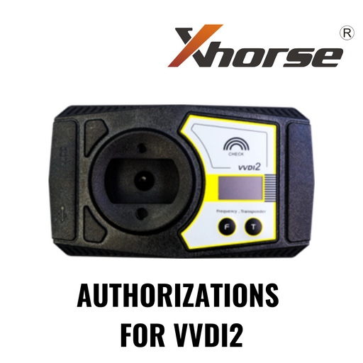 XHORSE VVDI2 AUTHORIZATIONS BMW OBD