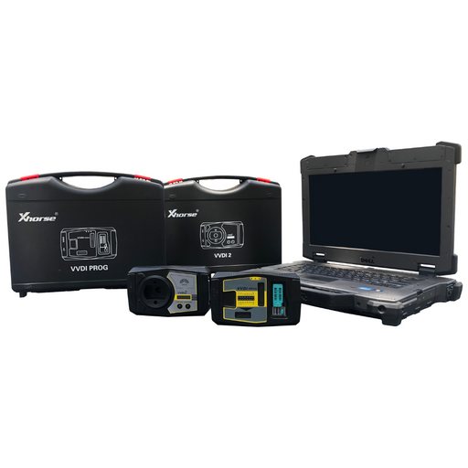 Rugged Locksmith Laptop KIT - Master Xhorse VVDI2 Kit